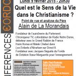 Conférence 9 février 2015