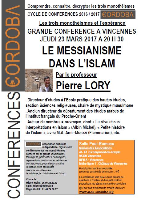 Conférence 23 mars 2017