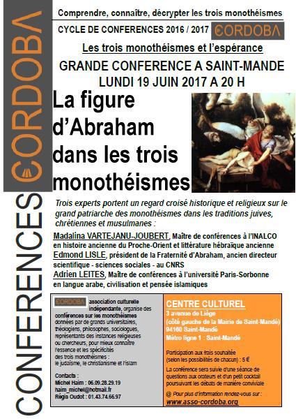 Conférence Saint-Mandé 19 juin 2017