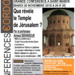 Que révèle le temple de Jérusalem ?